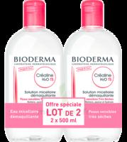 Crealine Ts H2o Solution Micellaire Sans Parfum Nettoyante Apaisante 2fl/500ml à Farebersviller