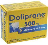 DOLIPRANE 500 mg Poudre pour solution buvable en sachet-dose B/12 à Farebersviller