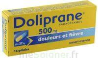 DOLIPRANE 500 mg Gélules B/16 à Farebersviller