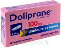 DOLIPRANE 100 mg Suppositoires sécables 2Plq/5 (10) à Farebersviller