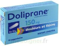 DOLIPRANE 150 mg Suppositoires 2Plq/5 (10) à Farebersviller