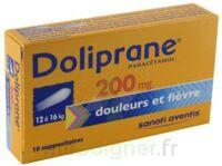 Doliprane 200 Mg Suppositoires 2plq/5 (10) à Farebersviller