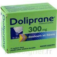 DOLIPRANE 300 mg Poudre pour solution buvable en sachet-dose B/12 à Farebersviller