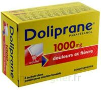 DOLIPRANE 1000 mg Poudre pour solution buvable en sachet-dose B/8 à Farebersviller