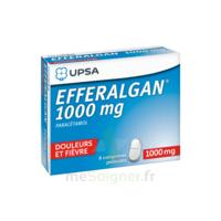 Efferalgan 1000 mg Comprimés pelliculés Plq/8 à Farebersviller