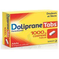 DOLIPRANETABS 1000 mg Comprimés pelliculés Plq/8 à Farebersviller