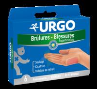 Urgo Brulures-blessures Petit Format X 6 à Farebersviller