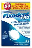 Fixodent Pro Comprimés Nettoyant Fraîcheur Longue Durée Pour Prothèse Dentaire B/54 à Farebersviller