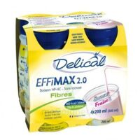 Delical Effimax 2.0 Fibres, 200 Ml X 4 à Farebersviller