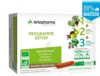 Arkofluide Bio Ultraextract Coffret Programme Détox 3x10 Ampoules/10ml à Farebersviller