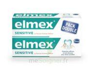 ELMEX SENSITIVE DENTIFRICE, tube 75 ml, pack 2 à Farebersviller