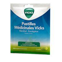 Pastilles Medicinales Vicks Past à Sucer Menthol Eucalyptus Sach/18 à Farebersviller