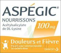 ASPEGIC NOURRISSONS 100 mg, poudre pour solution buvable en sachet-dose à Farebersviller