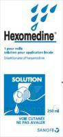 Hexomedine 1 Pour Mille S Appl Loc Fl/250ml à Farebersviller