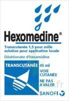 HEXOMEDINE TRANSCUTANEE 1,5 POUR MILLE, solution pour application locale à Farebersviller