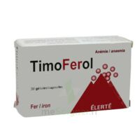 TIMOFEROL, gélule Plq/90 à Farebersviller