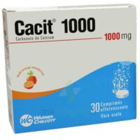 Cacit 1000 Mg, Comprimé Effervescent à Farebersviller