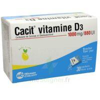 Cacit Vitamine D3 1000 Mg/880 Ui, Granulés Effervescents 90sach/8g à Farebersviller