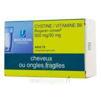CYSTINE/VITAMINE B6 BIOGARAN CONSEIL 500 mg/50 mg Cpr pell Plq/120 à Farebersviller