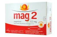 MAG 2 122 mg S buv en ampoule sans sucre édulcoré à la saccharine sodique 30Amp/10ml à Farebersviller