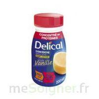 DELICAL BOISSON HP HC CONCENTREE Nutriment vanille 4Bouteilles/200ml à Farebersviller