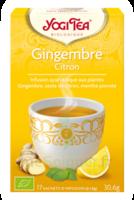 Yogi Tea Gingembre Citron à Farebersviller