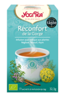 Yogi Tea Reconfort De La Gorge à Farebersviller