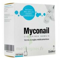 MYCONAIL 80 mg/g, vernis à ongles médicamenteux à Farebersviller