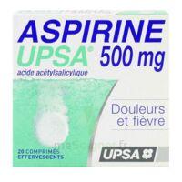 ASPIRINE UPSA 500 mg, comprimé effervescent à Farebersviller