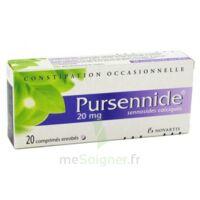 PURSENNIDE 20 mg, comprimé enrobé à Farebersviller