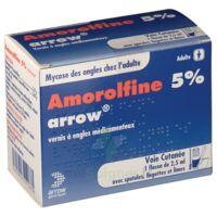AMOROLFINE ARROW 5 % V ongles médicamenteux 1Fl/2,5ml+30spat à Farebersviller