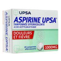 ASPIRINE UPSA TAMPONNEE EFFERVESCENTE 1000 mg, comprimé effervescent à Farebersviller