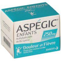 ASPEGIC ENFANTS 250, poudre pour solution buvable en sachet-dose à Farebersviller