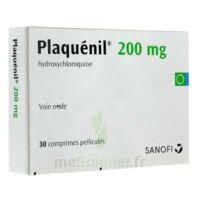 PLAQUENIL 200 mg, comprimé pelliculé à Farebersviller