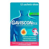 GAVISCONELL Suspension buvable sachet-dose menthe sans sucre 12Sach/10ml à Farebersviller