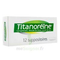 Titanoreine Suppositoires B/12 à Farebersviller