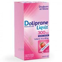Dolipraneliquiz 300 mg Suspension buvable en sachet sans sucre édulcorée au maltitol liquide et au sorbitol B/12 à Farebersviller