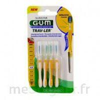 Gum Trav - Ler, 1,3 Mm, Manche Jaune , Blister 4 à Farebersviller