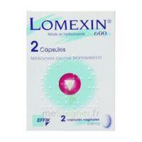 LOMEXIN 600 mg Caps molle vaginale Plq/2 à Farebersviller