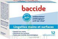 Baccide Lingette désinfectante mains & surface 12 Pochettes à Farebersviller