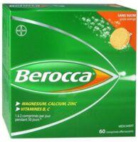 Berocca Comprimés effervescents sans sucre T/60 à Farebersviller