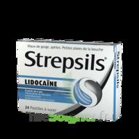 Strepsils lidocaïne Pastilles Plq/24 à Farebersviller