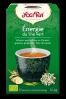 Yogi Tea Thé énergie Du Thé Vert Bio 17 Sachets à Farebersviller