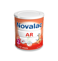 NOVALAC AR 2 Lait en poudre antirégurgitation 2ème âge B/800g à Farebersviller
