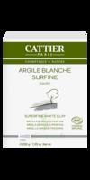 Cattier Argile Poudre surfine blanche 200g à Farebersviller