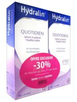 Hydralin Quotidien Gel lavant usage intime 2*200ml à Farebersviller