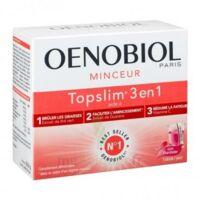 Oenobiol Topslim 3 en 1 Poudre à diluer Framboise Sticks/14 à Farebersviller