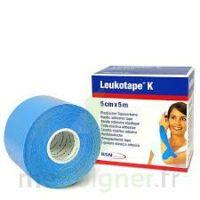 LEUKOTAPE K Sparadrap bleu ciel 5cmx5m à Farebersviller
