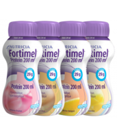 Fortimel Protein Nutriment multi saveurs caramel/vanille/fraise/mangue 4 Bouteilles/200ml à Farebersviller