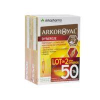 Arkoroyal Dynergie Ginseng Gelée Royale Propolis Solution Buvable 2b/20 Ampoules/10ml à Farebersviller